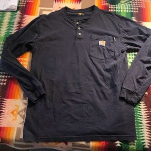 Carhartt Long Sleeve Pocket Henley